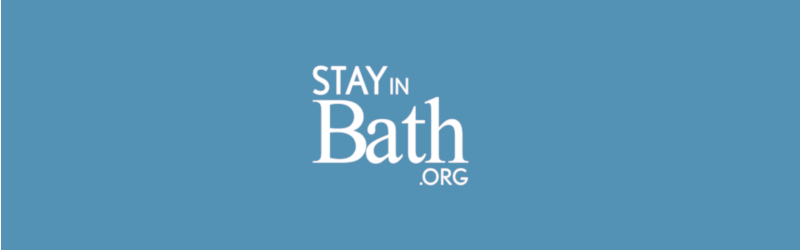 Stay in bath logo fill