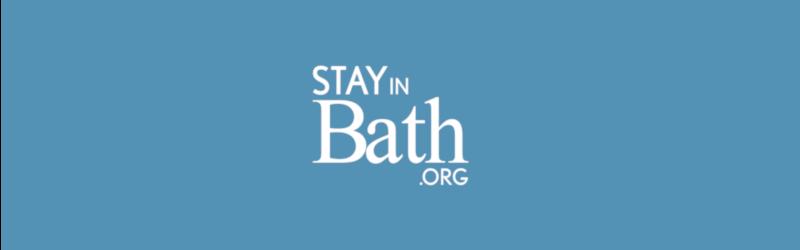 Stay in bath logo fill