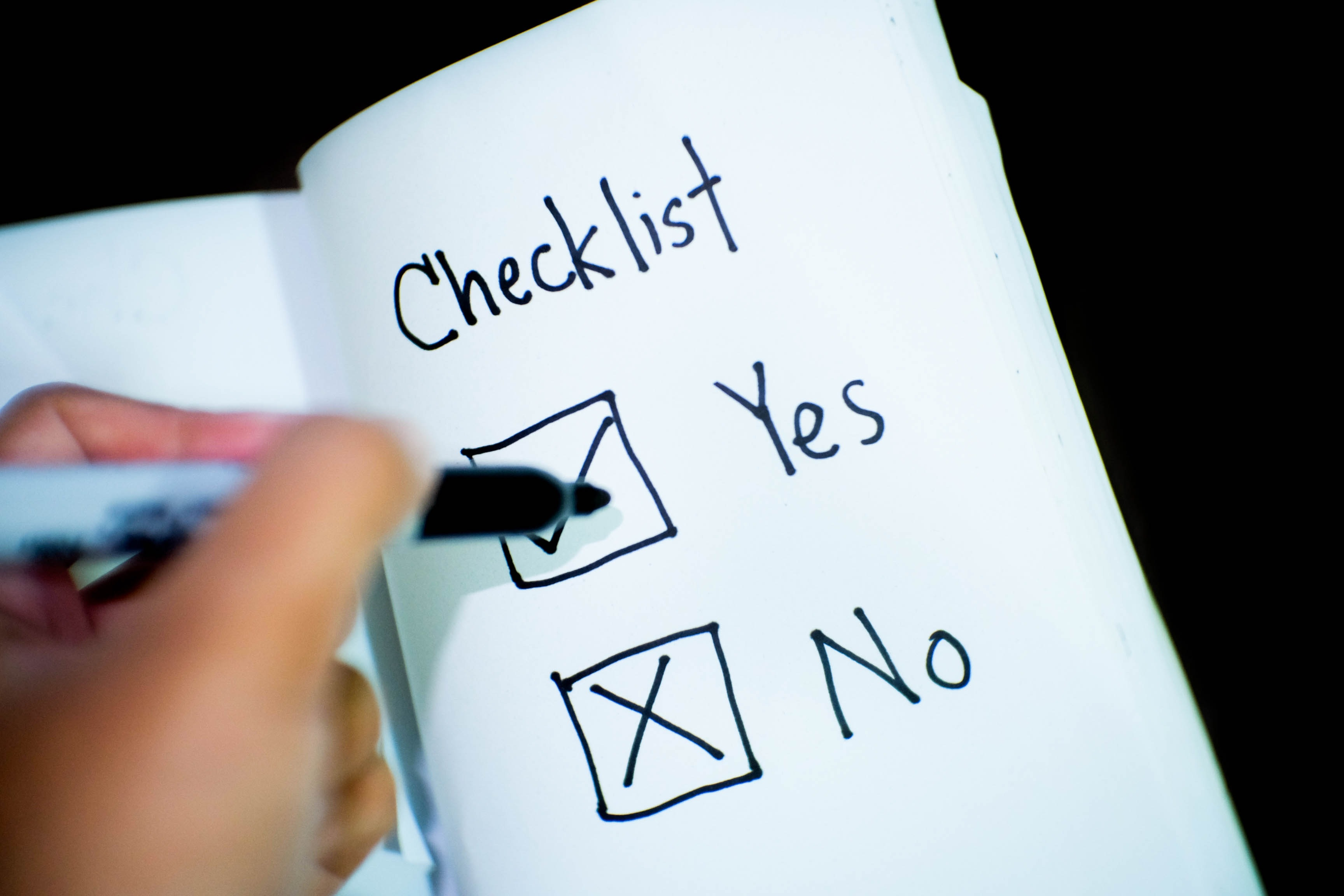 Banking business checklist 416322