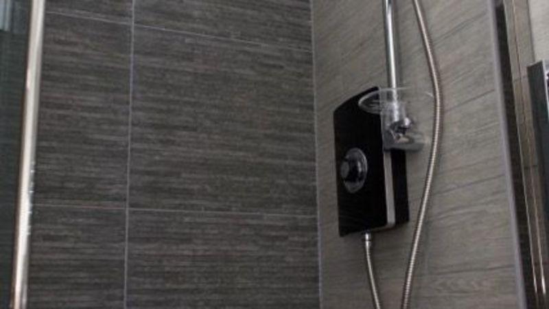 Medium crop room 8 shower