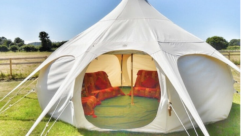 Photograph of Lotus Belle Tent 1