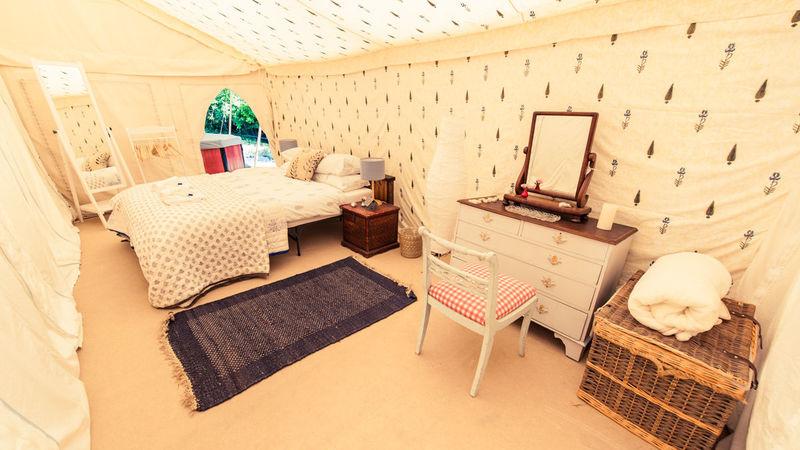 Medium crop tent house 20