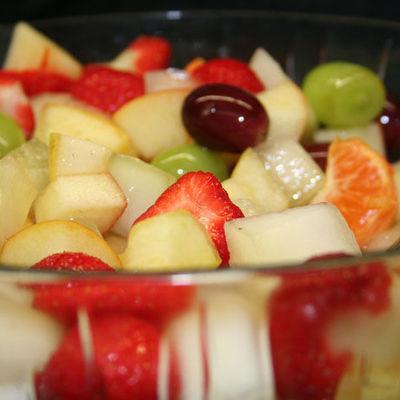 Thumb breakfast fruit