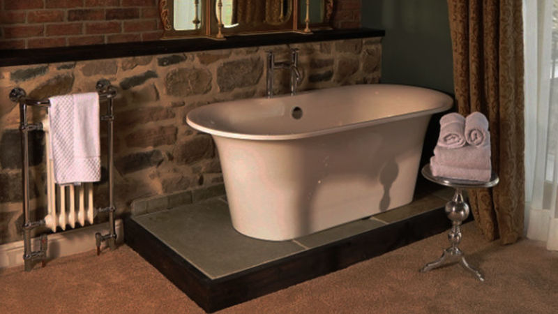 Medium crop bath tub