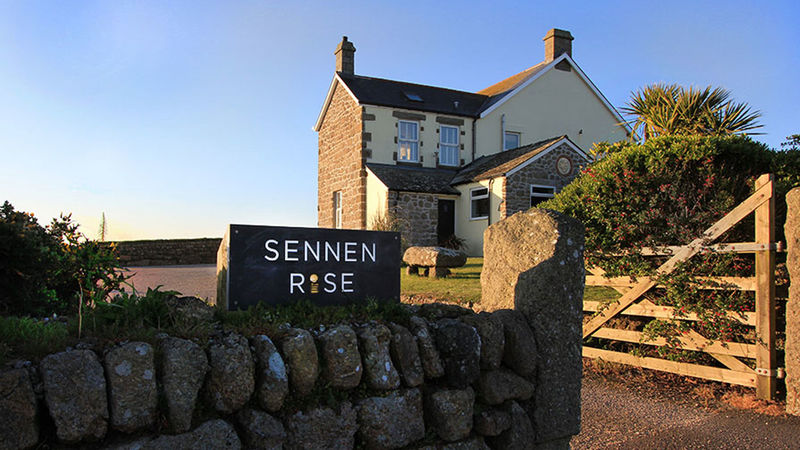 Medium crop sennen rise luxury accommodation sennen cove exterior