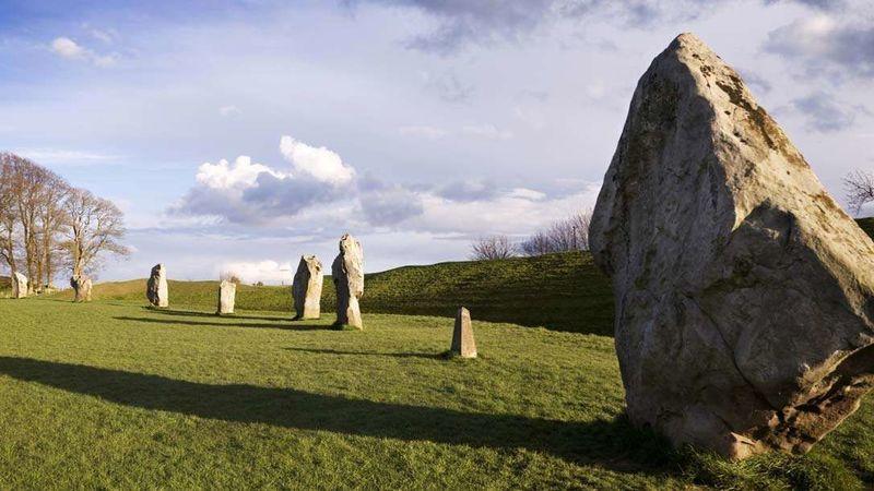 Medium crop stone circle