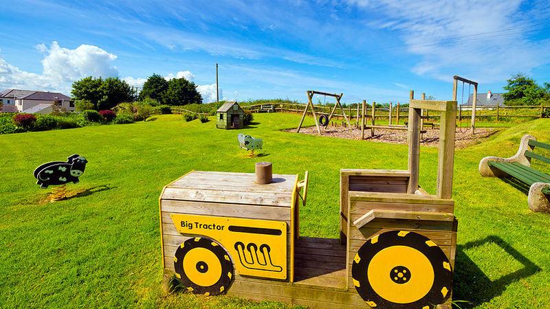 Medium crop tractor