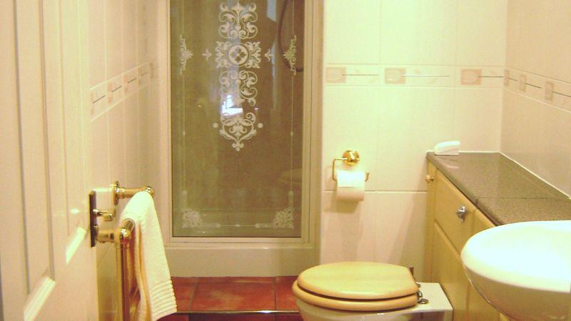 Medium crop shower room