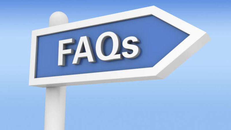 Medium crop frequently asked questions on hotel bookings place full