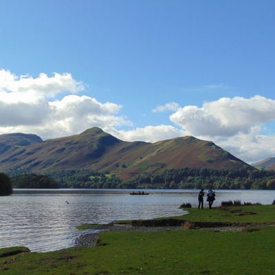 Thumb catbells and derwentwater