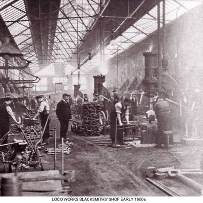 Thumb 1 1c b2 loco works blacksmiths shop 1905