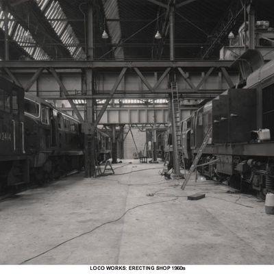 Thumb 1 1c b2 loco works erecting shop  general view