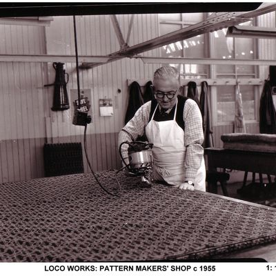 Thumb 1 1c b2 loco works pattern makers  shop c 1955