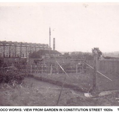 Thumb 1 1c b2 loco works view from garden in constitution st 1920