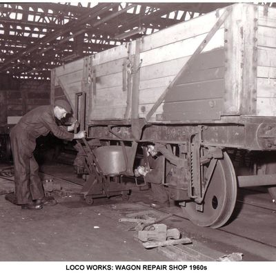 Thumb 1 1c b2 loco works wagon repair shop 1960s