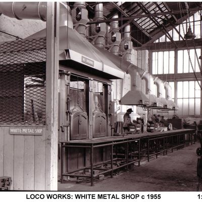 Thumb 1 1c b2 loco works white metal shop c1955