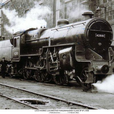 Thumb 1 1c b2 locomotive fowler hughes class5p 4f c1958