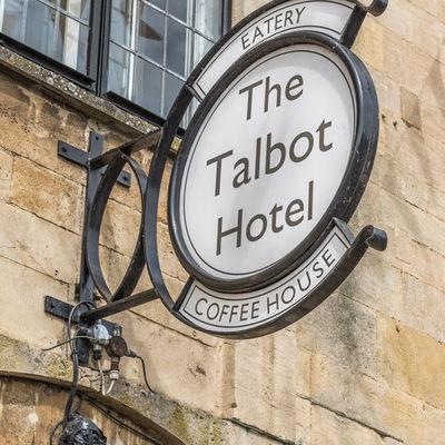 Thumb talbot sign close up