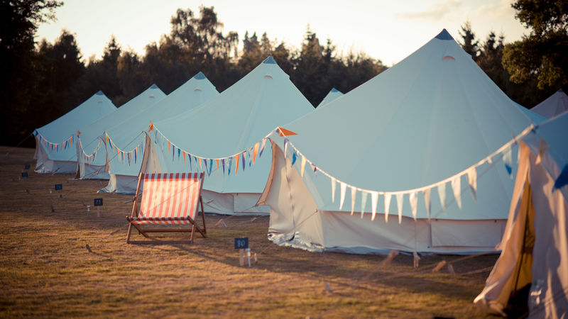 Photograph of Pioneer Bell Tent