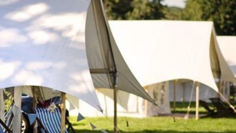 Photograph of Safari Tents