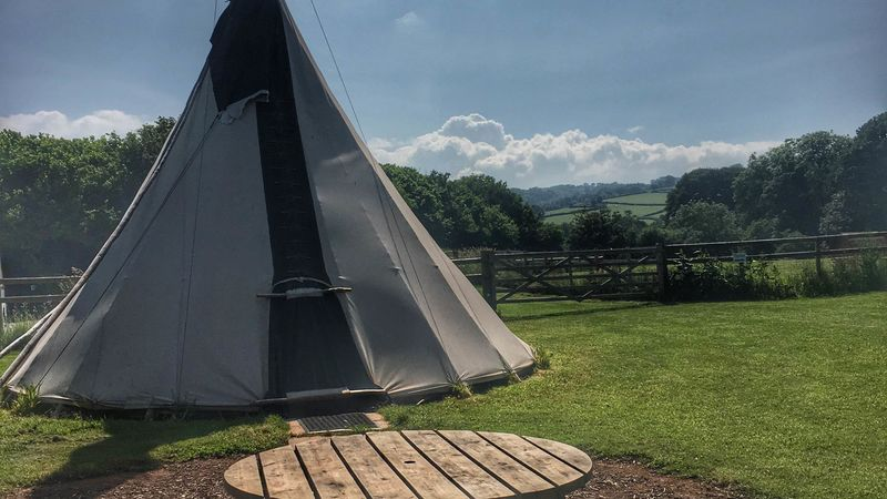 Photograph of Tipi