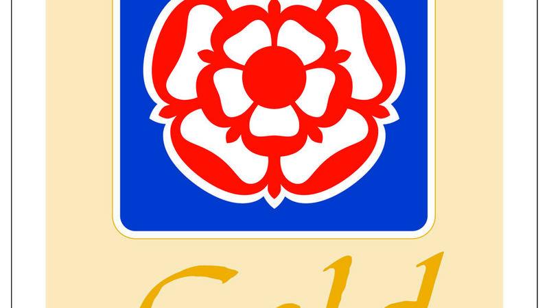 Medium crop gold award logo