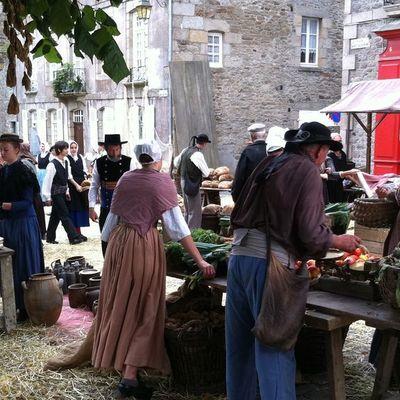 Thumb medieval fair in place st sauveur
