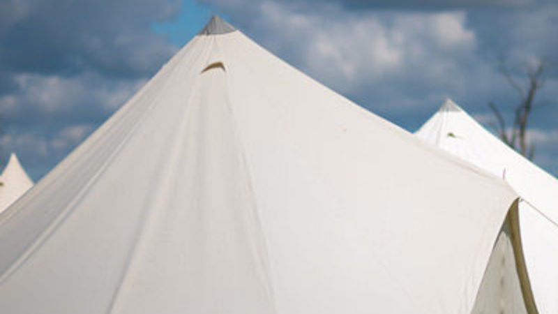 Photograph of Festival Tent