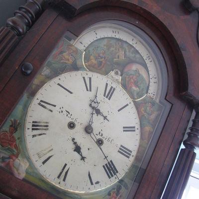 Thumb clock