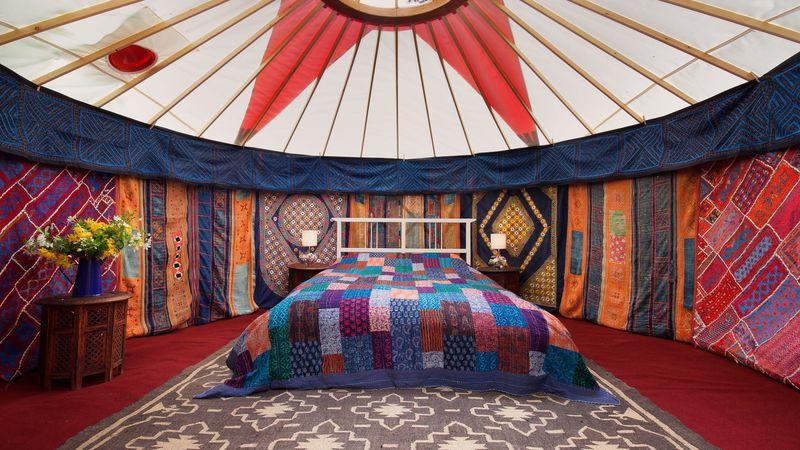 Photograph of 14Ft Deluxe Yurt
