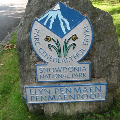 Thumb snowdonia national park penmaenpool sign