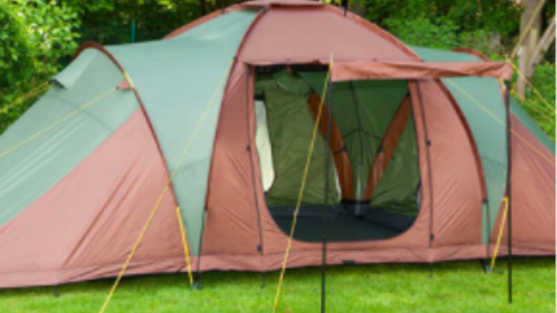 Photograph of Group Tent
