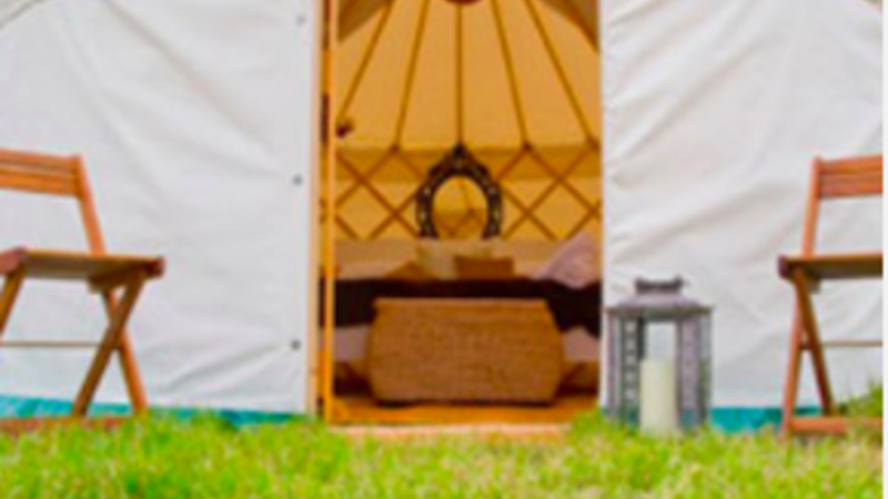 Photograph of 12ft Traditional Yurt