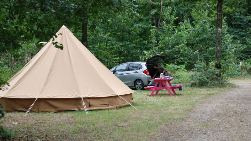 Photograph of Camping Pitch