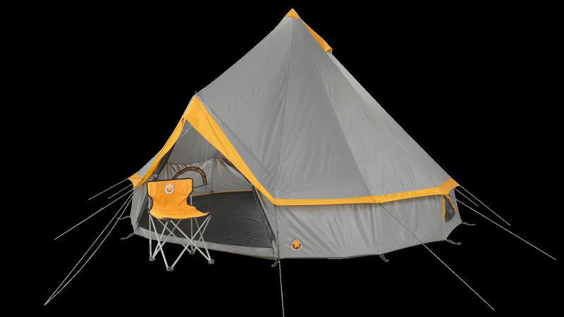 Medium crop camping tent bell tent small