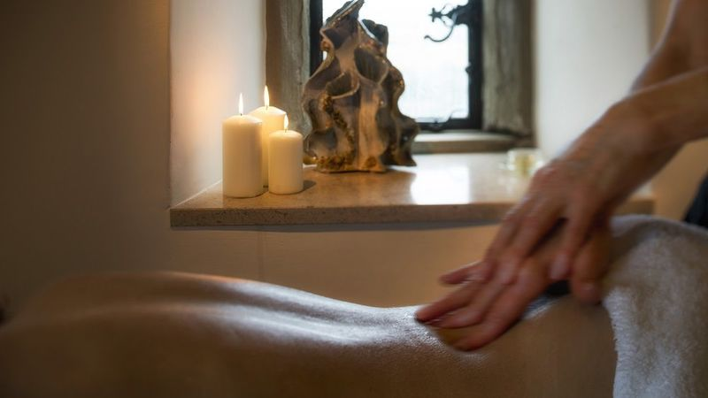 Medium crop roch castle treatment room massage