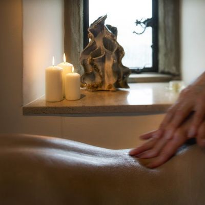 Thumb roch castle treatment room massage