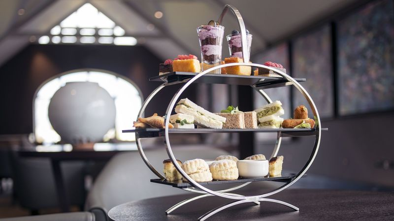 Medium crop afternoon tea twr y felin hotel