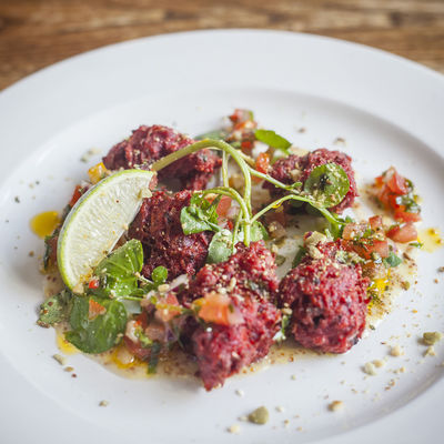 Thumb beetroot fritters 1