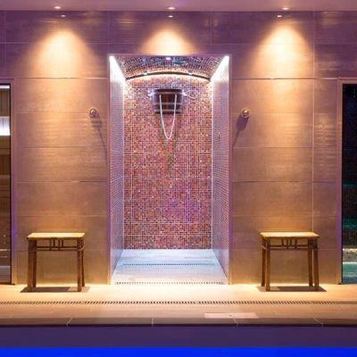 Thumb sauna  shower and steam