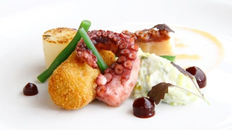 Medium crop octopus