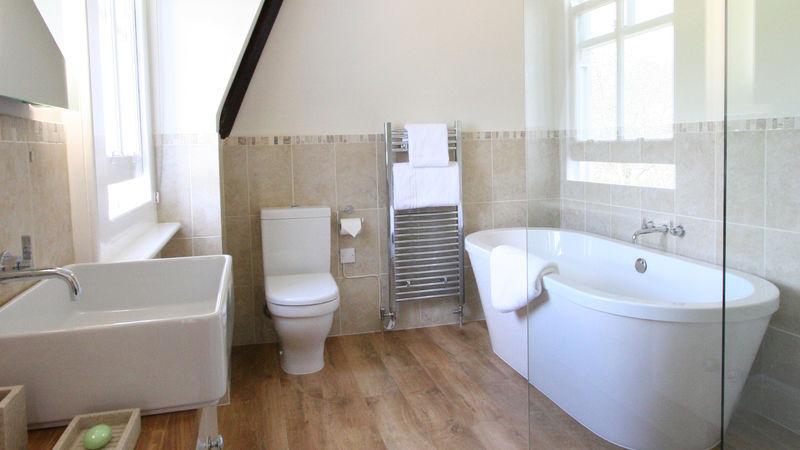 Medium crop deluxe bathroom