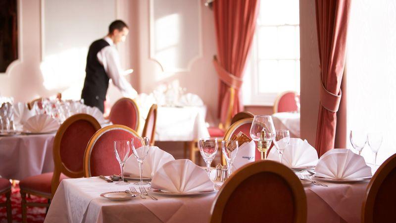 Medium crop restaurant at the riviera
