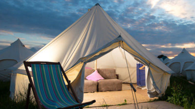Photograph of Deluxe Bell Tent