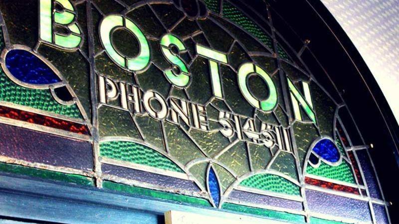 Medium crop boston stained glass