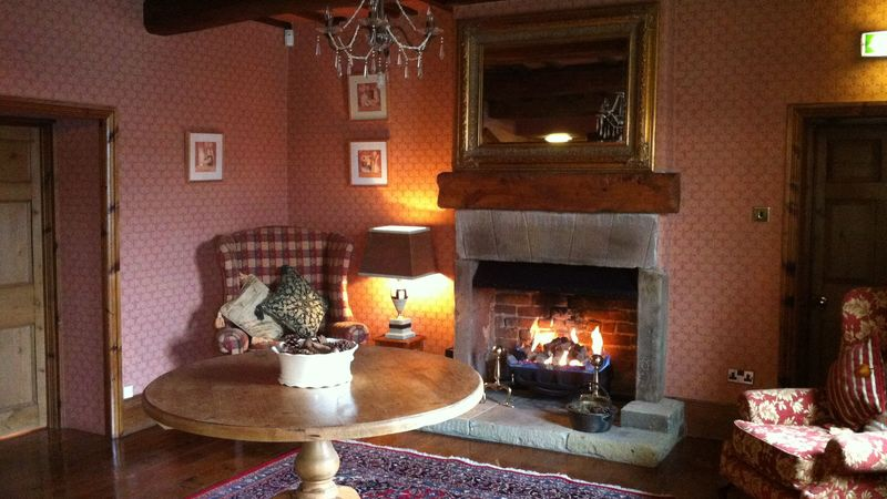 Medium crop fireplace