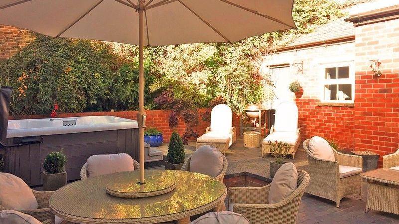Medium crop garden furniture