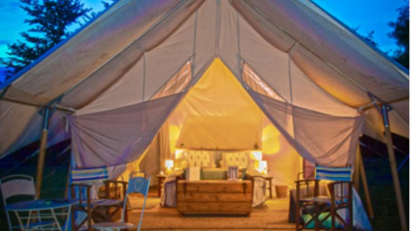 Photograph of Safari Tent
