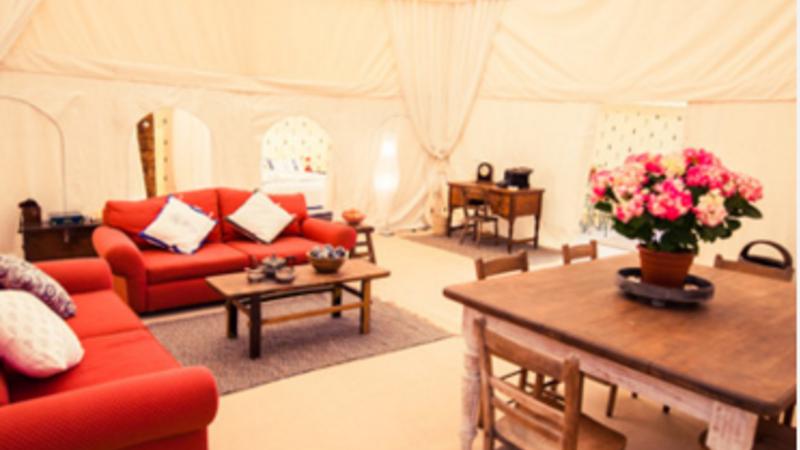 Photograph of Raj Tenthouse Suite