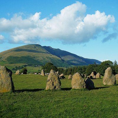 Thumb castlerigg stone circle